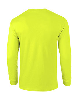 Langarm T-Shirt Ultra Cotton™ Safety Green bedrucken