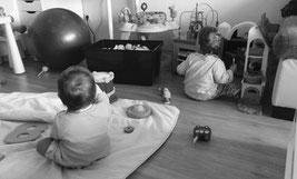 Zwillinge im Kleinkindalter