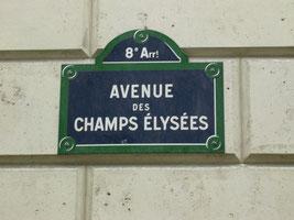 Les Champs Élysées, Paris