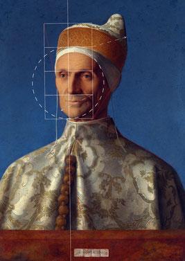 (25) Giovanni Bellini, Ritratto del doge Leonardo Loredan, 1501/2, olio su legno di pioppo, 61,6 x 45,1 cm, n. invent. NG189, National Gallery / Londra