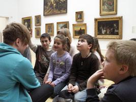 Kleine Künstler in der Kunsthalle