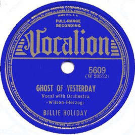 Ghost of yesterday-billie holiday-irene kitchings-mujeres en el jazz clásico