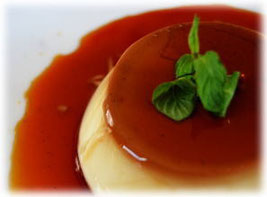 pudding (cream caramel)