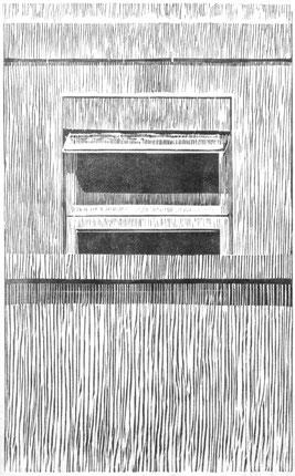KLINIKFENSTER II  2002  38 x 20,5 cm