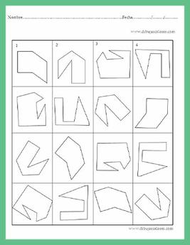 Potencia la  percepción visual, la clasificación y categorización de objetos figuras