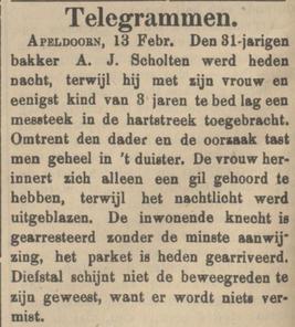 Tubantia 13-02-1909
