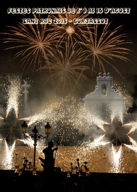 Fiestas de San Roque 2015 en Burjassot Cartel y programa