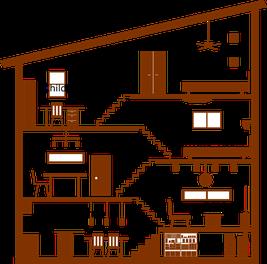 注文住宅スキップフロアの家