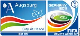 SymPaten - City Welcomers 2011 Logo FIFA - Freiwilligen-Zentrum Augsburg