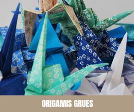 Origamis Grues - Hésione Design