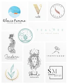 Exemples de logos créés par Dumont Design Graphique