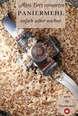 Altes Brot verwerten - Paniermehl bzw. Semmelbrösel haltbar #resteverwertung #paniermehl #altesbrot