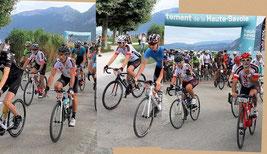 """Départs du 127 km, et de la rando """"Tour de Chatelard"""""""