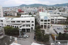 2月7日に新庁舎建設の位置を問う住民投票が行われる(資料写真)