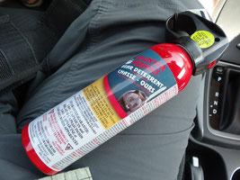 Eine Dose Bären-Spray.
