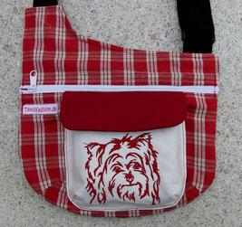 Gassitasche, Yorshire Terrier, Tasche