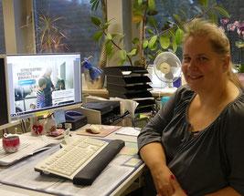 Viele Vorteile und die Behörde der Zukunft sieht Daniela Kilches in jobcenter.digital. © Jobcenter EU – aktiv, Dagmar Grömping