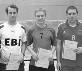 v.l. Tobias Haumann, Sven Walter, Michael Kowallik