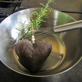 Kulinarischer Genuss fängt beim Rezept an: frische Zutaten, eine gute Ausbildung und viel Herz beim kochen.