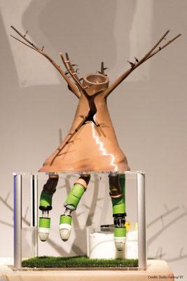 The plantoid robot (credit: Duilio Farina / IIT)