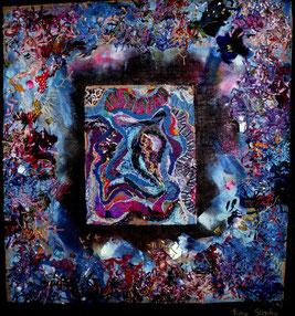TRIPTYCH COLOUR BLUE (for sale as a set)