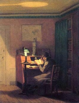 Der elegante Leser - Georg Friedrich Kersting