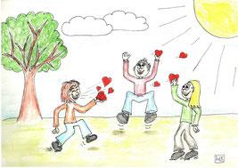 Sind Glückshormone gut für das soziale Verhalten?