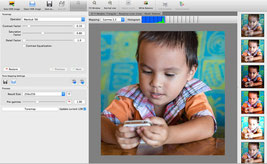 User Interface of Luminance HDR is very simple and effective