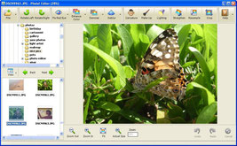 User Interface of Photo! Editor software © Photo! Editor