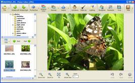 User Interface of Photo! Editor software © Photo! Editor
