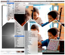 Fiji a scientific image editor which goes far beyond photoshop