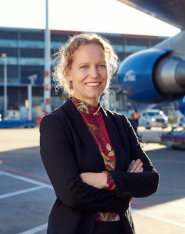 Maaike van der Windt, Director Aviation Marketing, Cargo and Customer Experience at Schiphol Airport  - photo: AAS