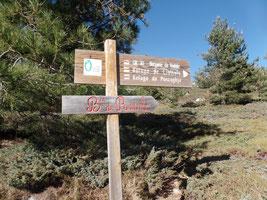 départ randonnées bergeries de radule