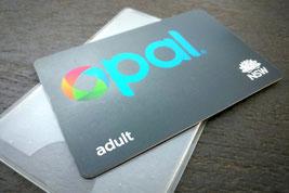Sydney, Opal Card, U Bahn, Zug, Bus, Australien