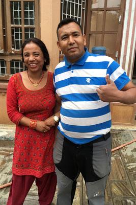 Hari Devi und Dal Bahadur Rawat