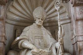 Grab des heiligen Willibald im Eichstätter Dom. pde-Foto: Geraldo Hoffmann