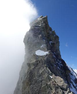 Zinalrothorn, Nordgrat, Mountet, Bosse