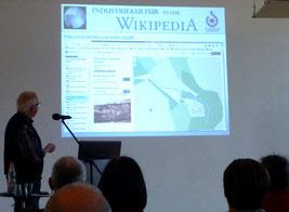 Industriekultur in der Wikipedia mit Nutzung neuer digitaler Medien, Fachvortrag von Klaus Schönfuß