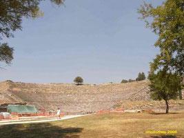 Amphitheater in Dodona