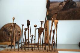 Foto: (Dümmer-Museum) Gewandnadeln aus Bronze