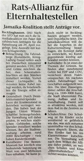 FDP im Einsatz für mehr Bildung, Kultur, Gesundheit und Nachhaltigkeit