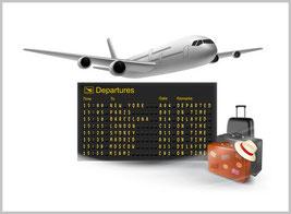 Transfers vom Flughafen München und Wien