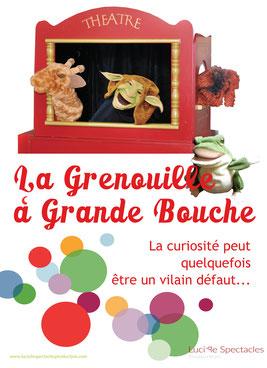 Un spectacle de marionnettes qui retrace les aventures de la Grenouille à grande bouche, à Nice, Monaco, St-Tropez...