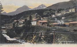 101-016a Verlag H.G. & Co., Z. (vermutich Guggenheim), Karte gelaufen 31.8.1906