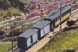 420-006 Ausschnitt aus Postkarte von Engadin Press Co., Samaden