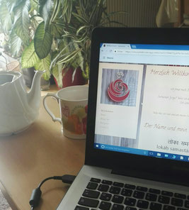 Endlich ist meine Website fertig - Copyright Tanja Schöffmann Yogalehrerin Samastah Yoga