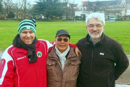v.l. Ingo Schürmann, Klaus Hübner, Drago Radonjic