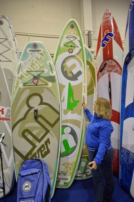 sup, standuppaddeln, standuppaddling, austrianboatshow, Boatshow Tull, Sport-Vibrations Mistral, Mistral, Asana