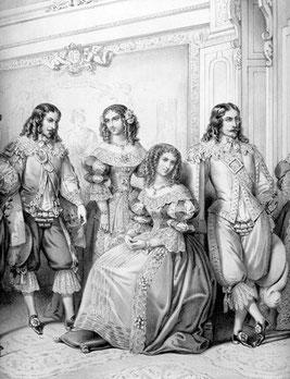 La duchessina Maria Antonietta Saluzzo, seduta