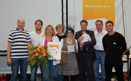 Das gesamte Feinschliff-Team war zur Verleihung des Alfred-Jacobi-Preises nach Bochumg angereist.